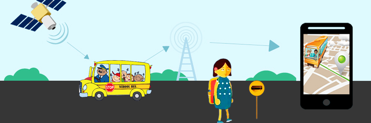 School Bus Tracking System with RFID